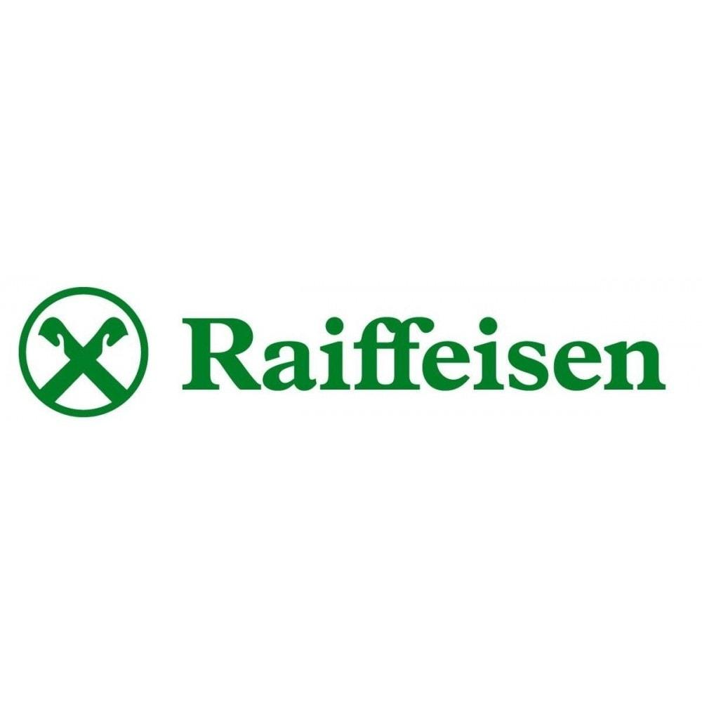 module - Creditcardbetaling of Walletbetaling - Raiffeisen Bank payment gateway - 1