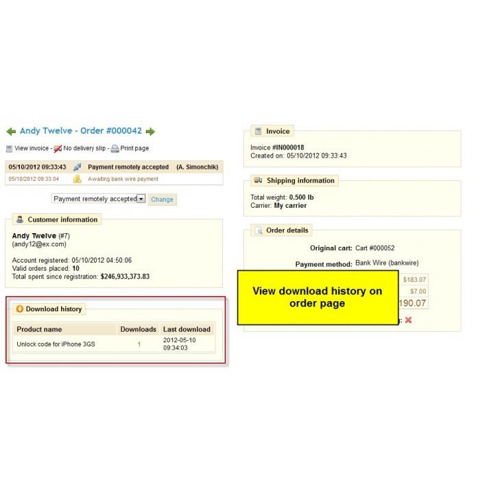 module - Виртуальных товаров - Download Assistant - 2