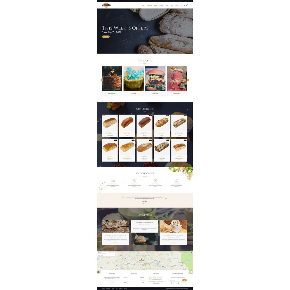 theme - Lebensmittel & Restaurants - JMS Bread 1.7 - 7