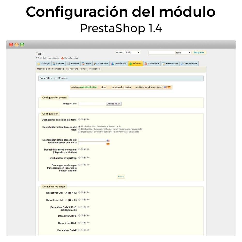 module - Seguridad y Accesos - Protección de contenido - Asegura tu tienda - 6