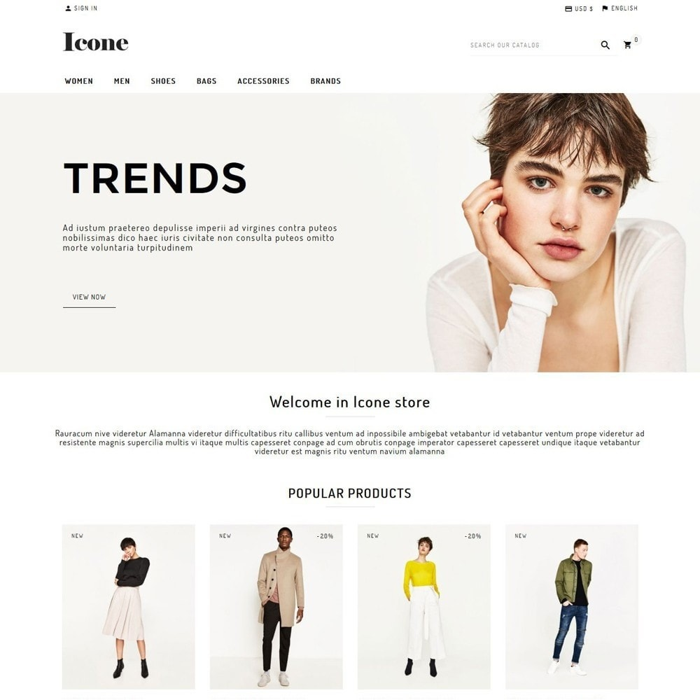 theme - Mode & Chaussures - Icone - 1