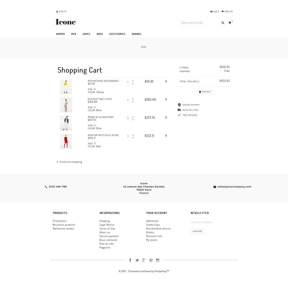 theme - Mode & Chaussures - Icone - 5