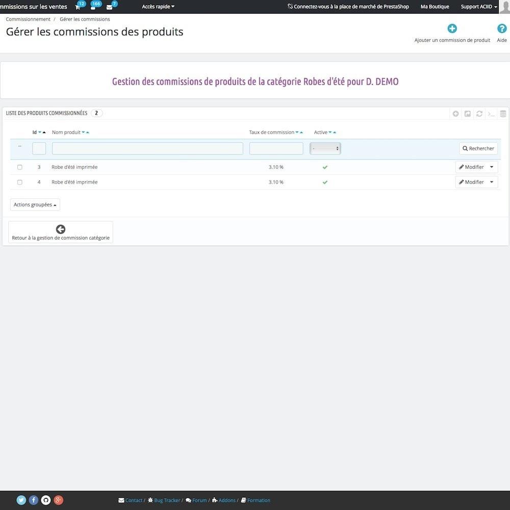 module - Comptabilité & Facturation - Commissions sur les ventes - 11