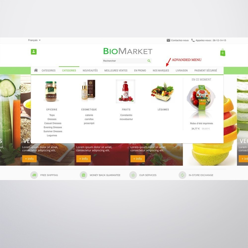 theme - Health & Beauty - Bio Market - 8