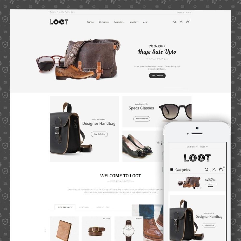 theme - Moda & Calzature - Loot - Online Fashion Store - 1