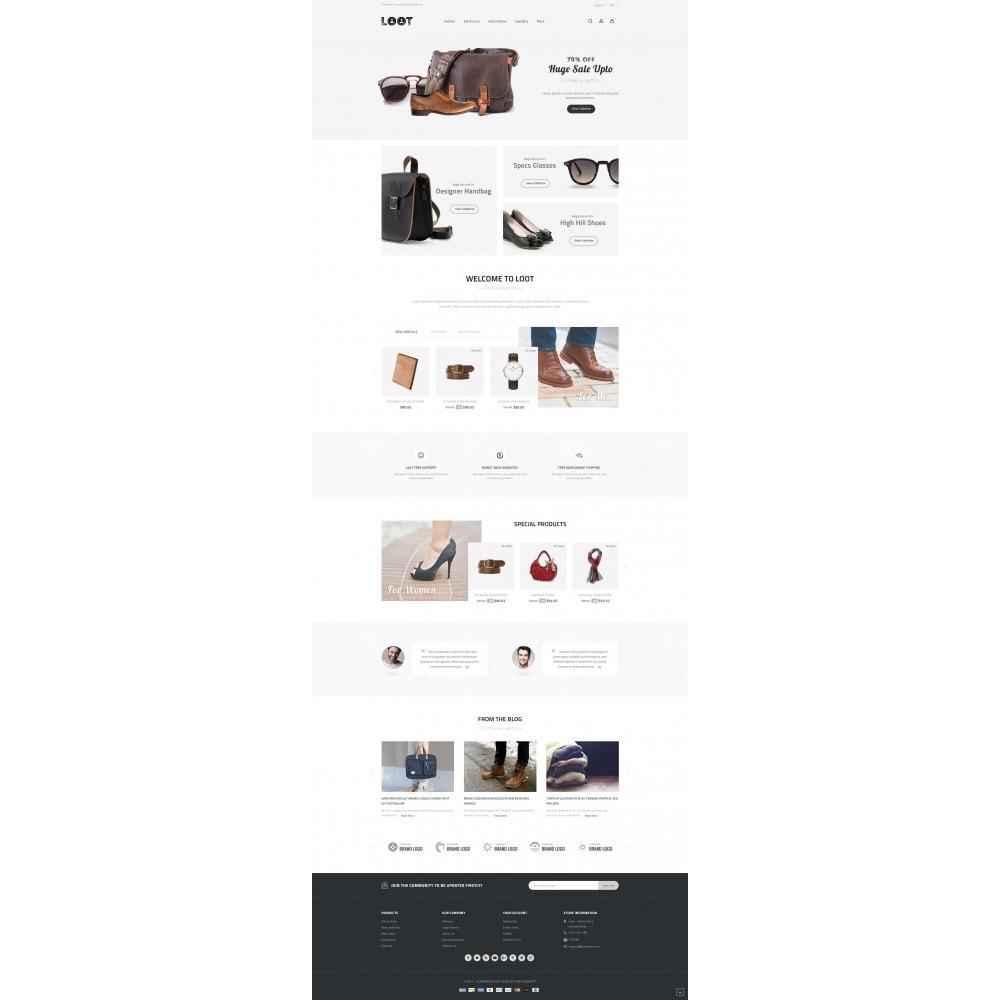 theme - Moda & Calzature - Loot - Online Fashion Store - 2