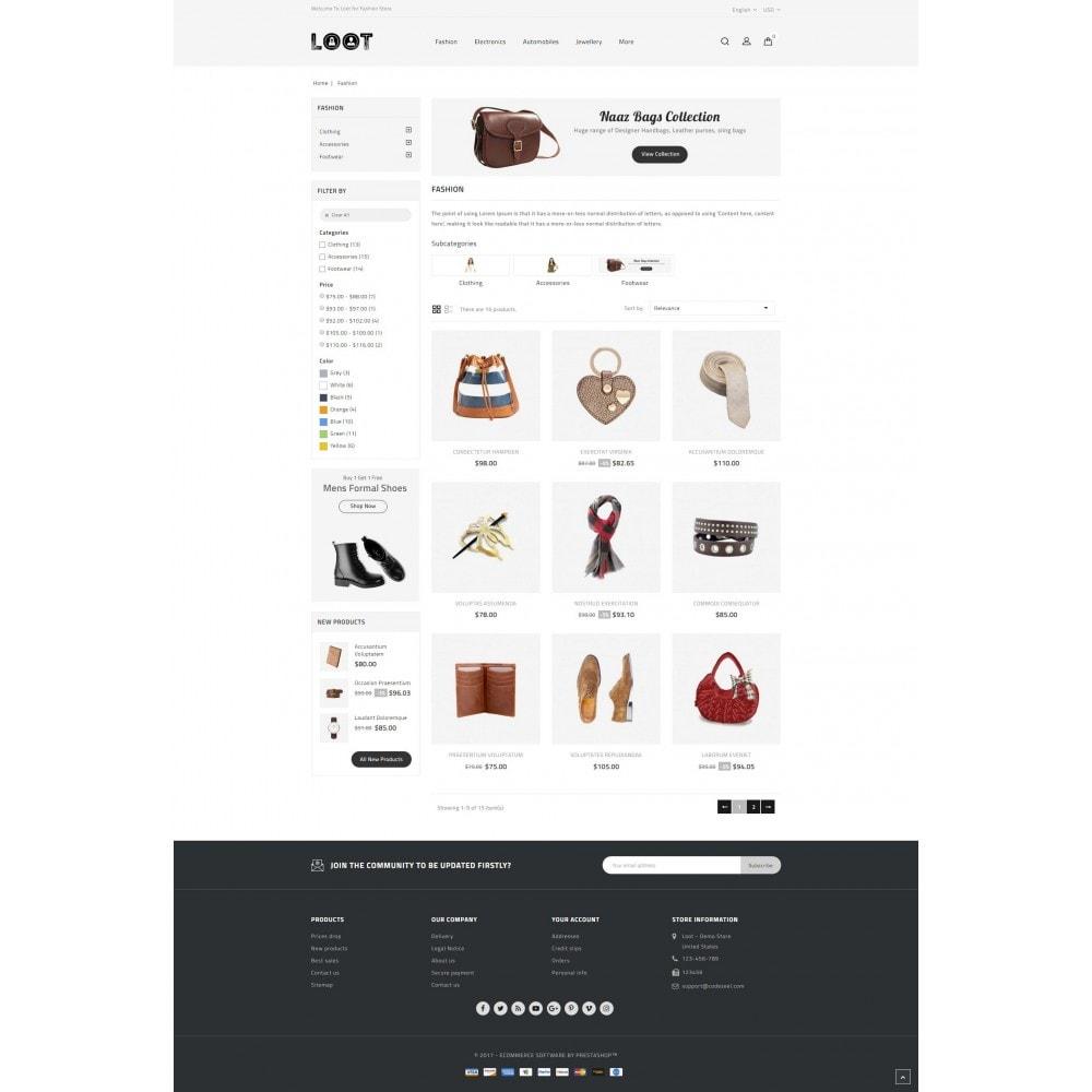 theme - Moda & Calzature - Loot - Online Fashion Store - 3