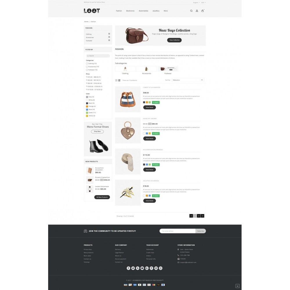 theme - Moda & Calzature - Loot - Online Fashion Store - 4