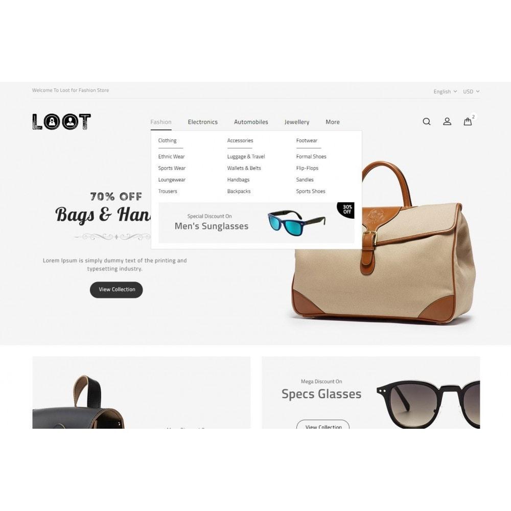 theme - Moda & Calzature - Loot - Online Fashion Store - 6