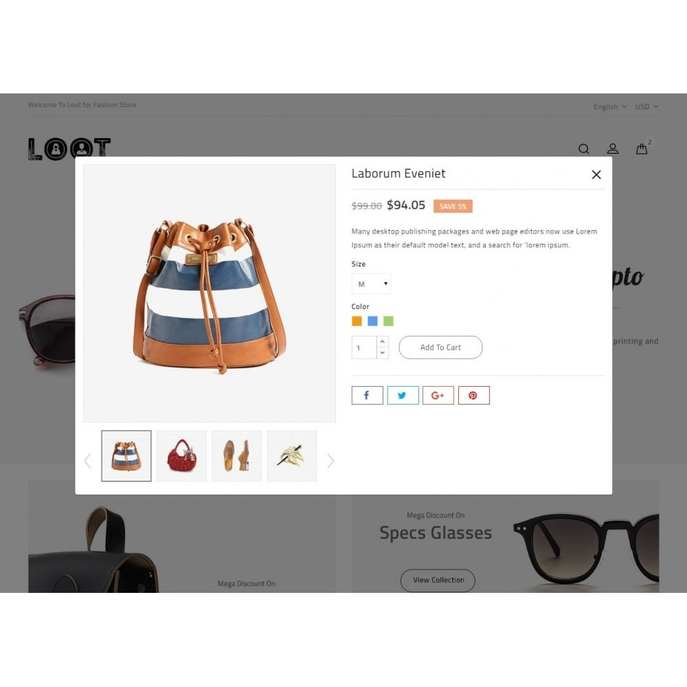 theme - Moda & Calzature - Loot - Online Fashion Store - 7