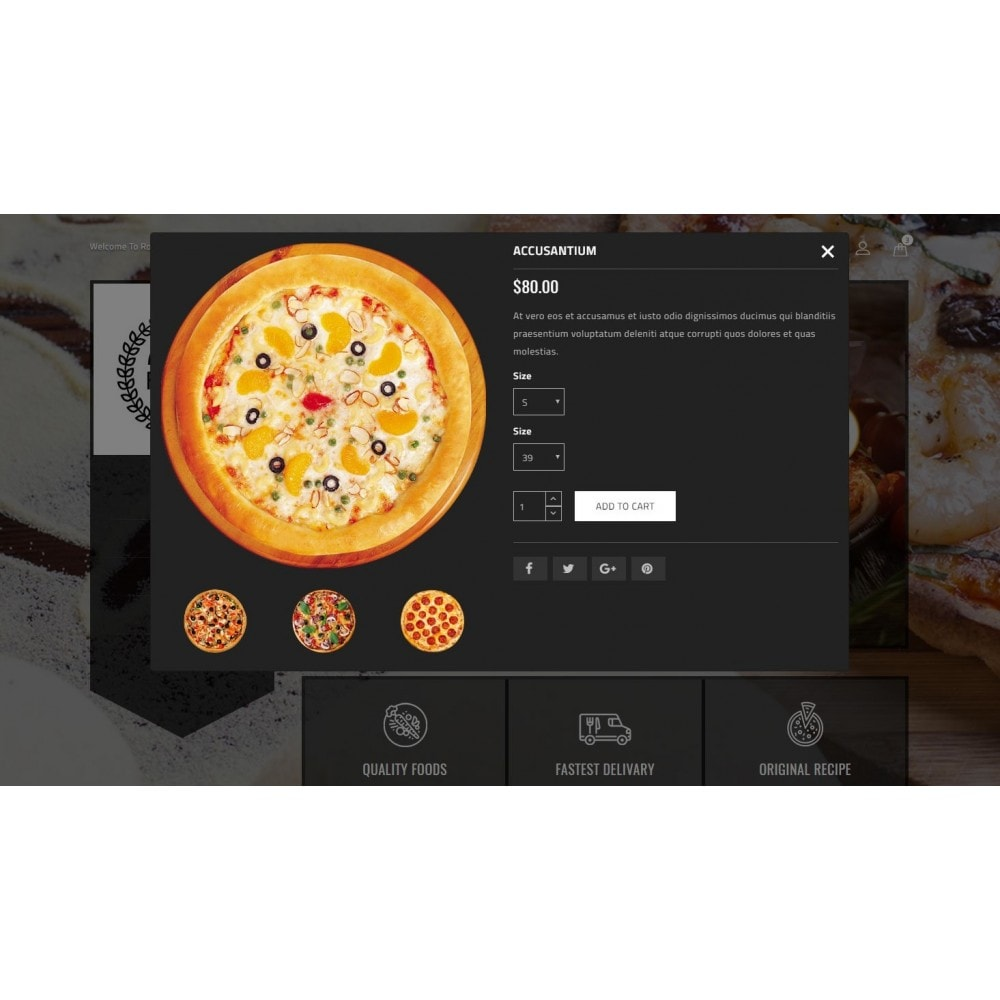 theme - Food & Restaurant - Ragout Pizza Store - 7