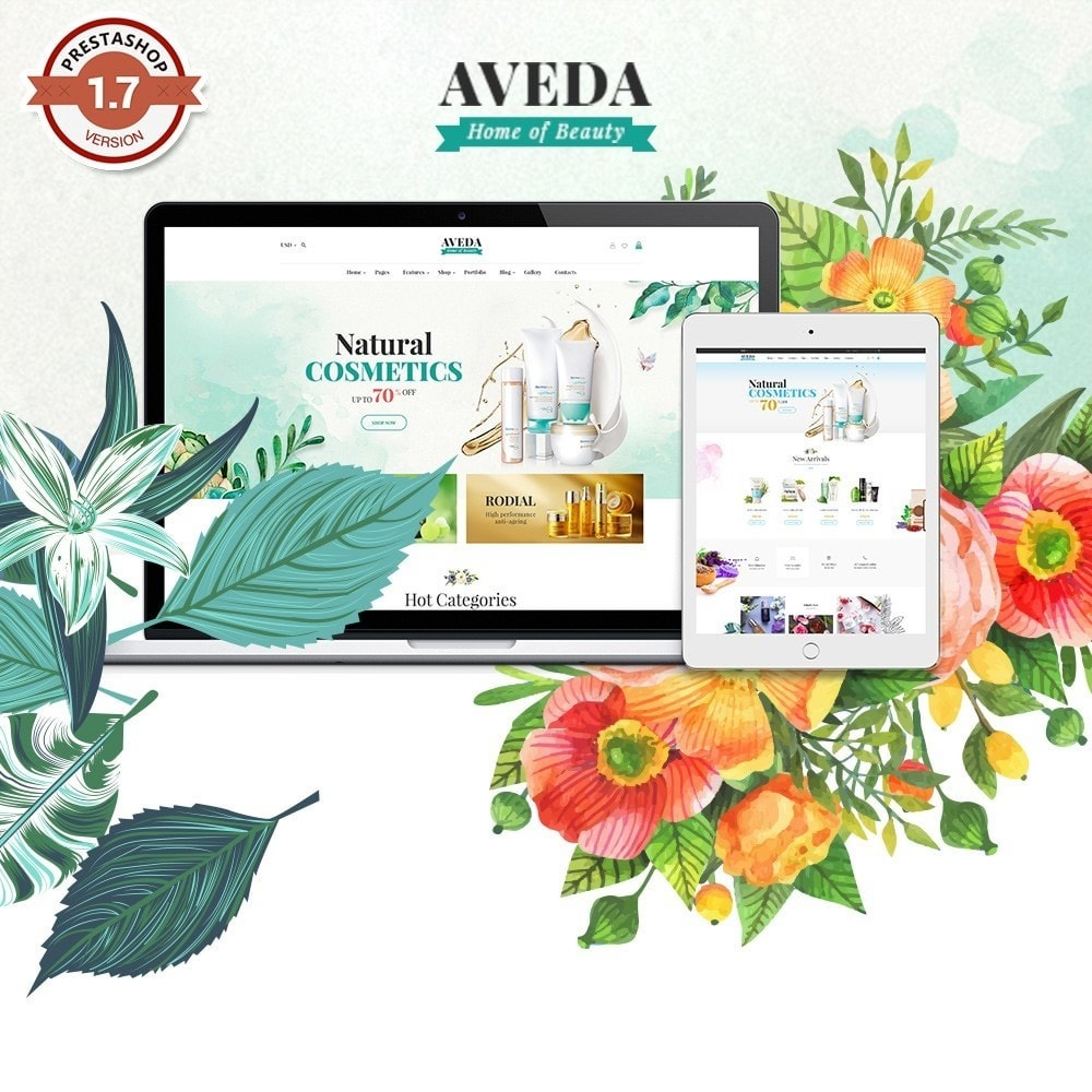 theme - Gezondheid & Schoonheid - Pts Aveda - 1