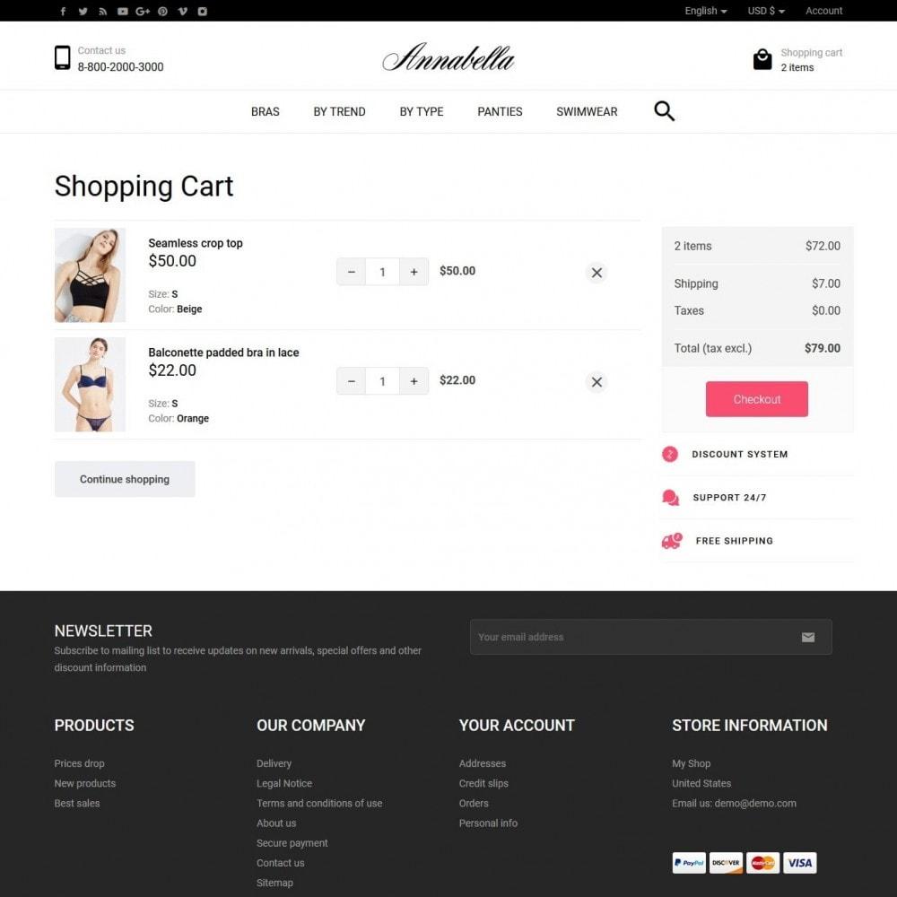 theme - Lingerie & Adulti - Annabella Lingerie Shop - 7