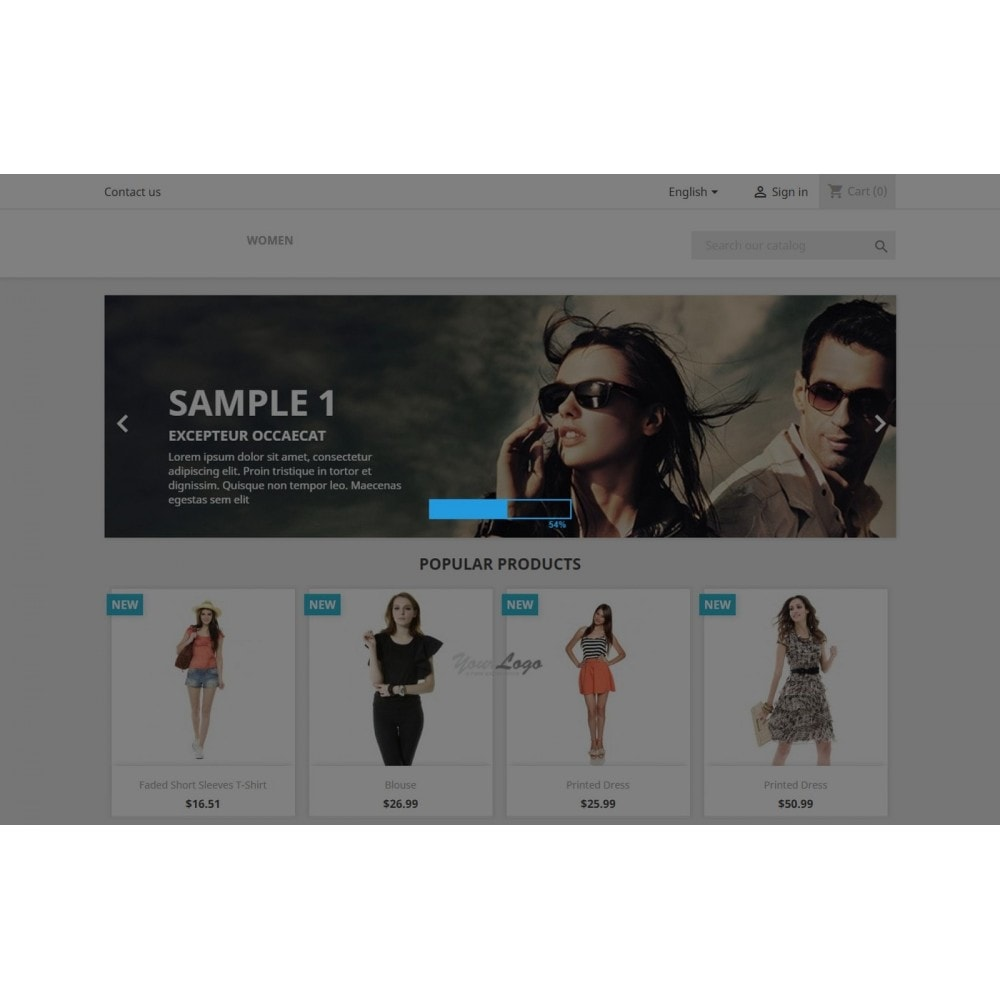 module - Búsquedas y Filtros - Shoploader - Page preloader - 1