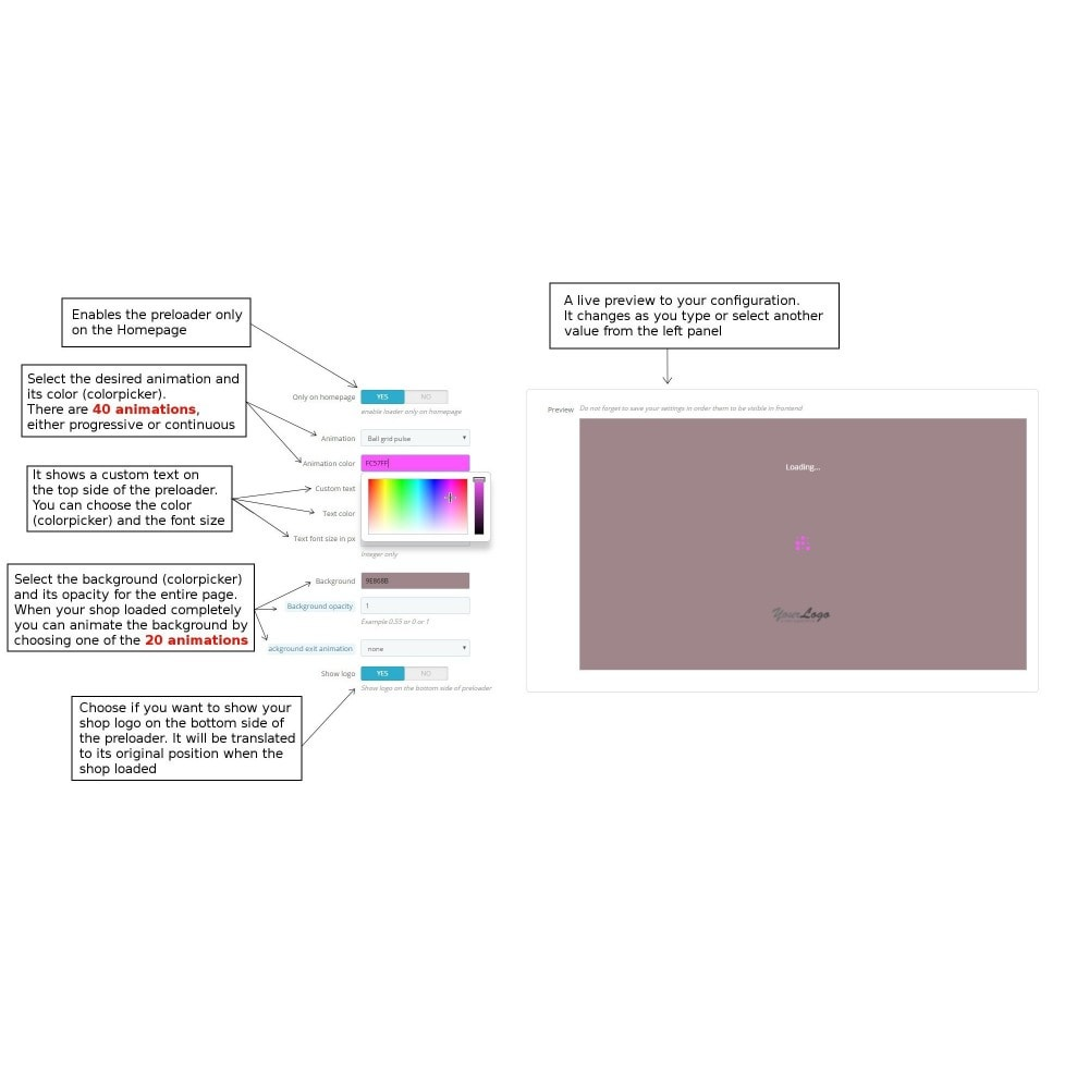 module - Поиск и фильтры - Shoploader - Page preloader - 4