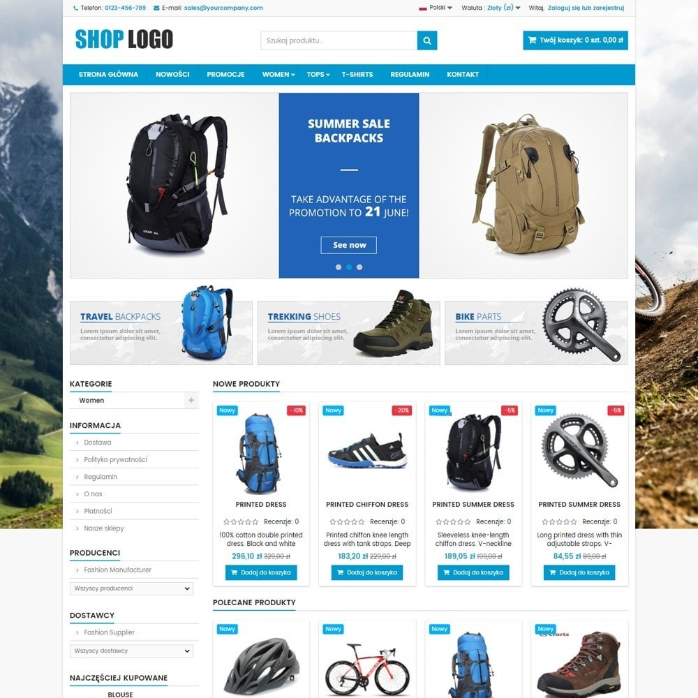 theme - Sport, Rozrywka & Podróże - P16AT03 Rowery, sport i podróże - 2