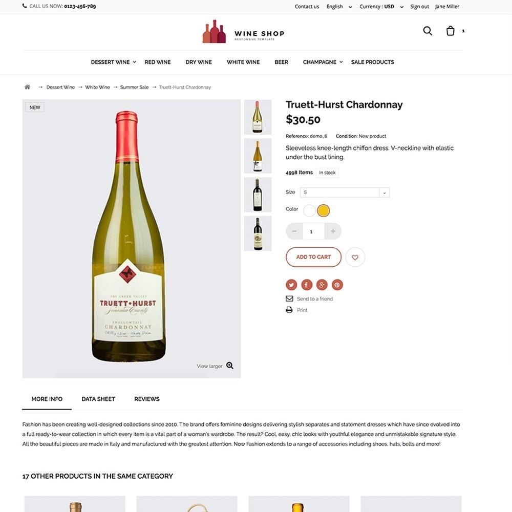 theme - Gastronomía y Restauración - Wineshop - 4