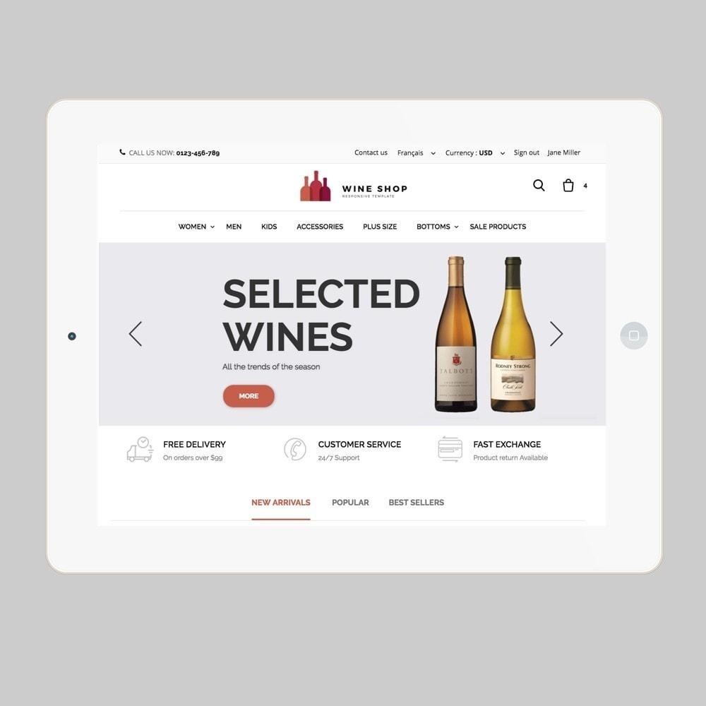 theme - Gastronomía y Restauración - Wineshop - 7