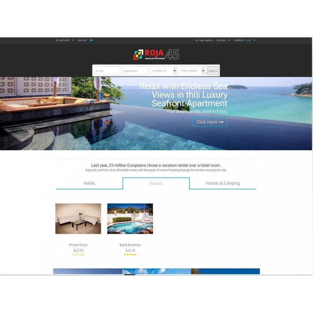 module - Locação e Reserva - Roja45: Property Rental & Booking Manager - 1