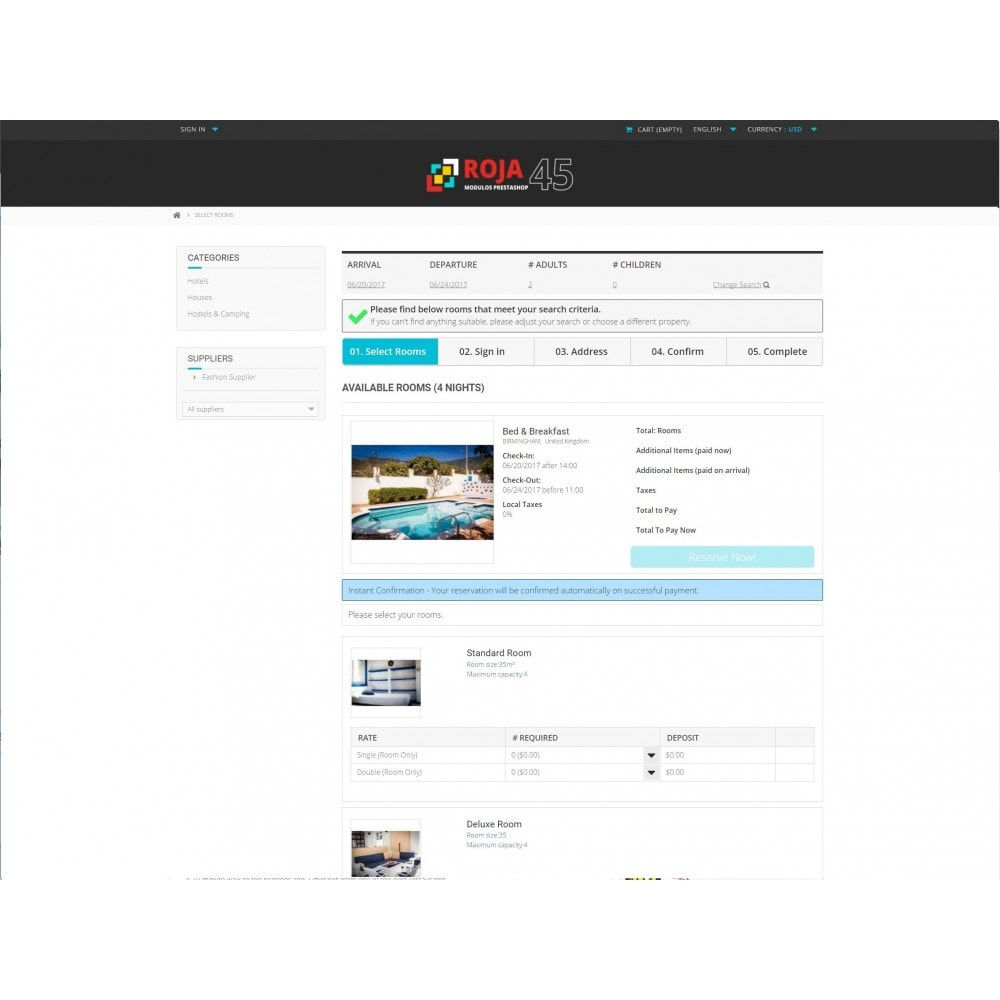module - Locação e Reserva - Roja45: Property Rental & Booking Manager - 6