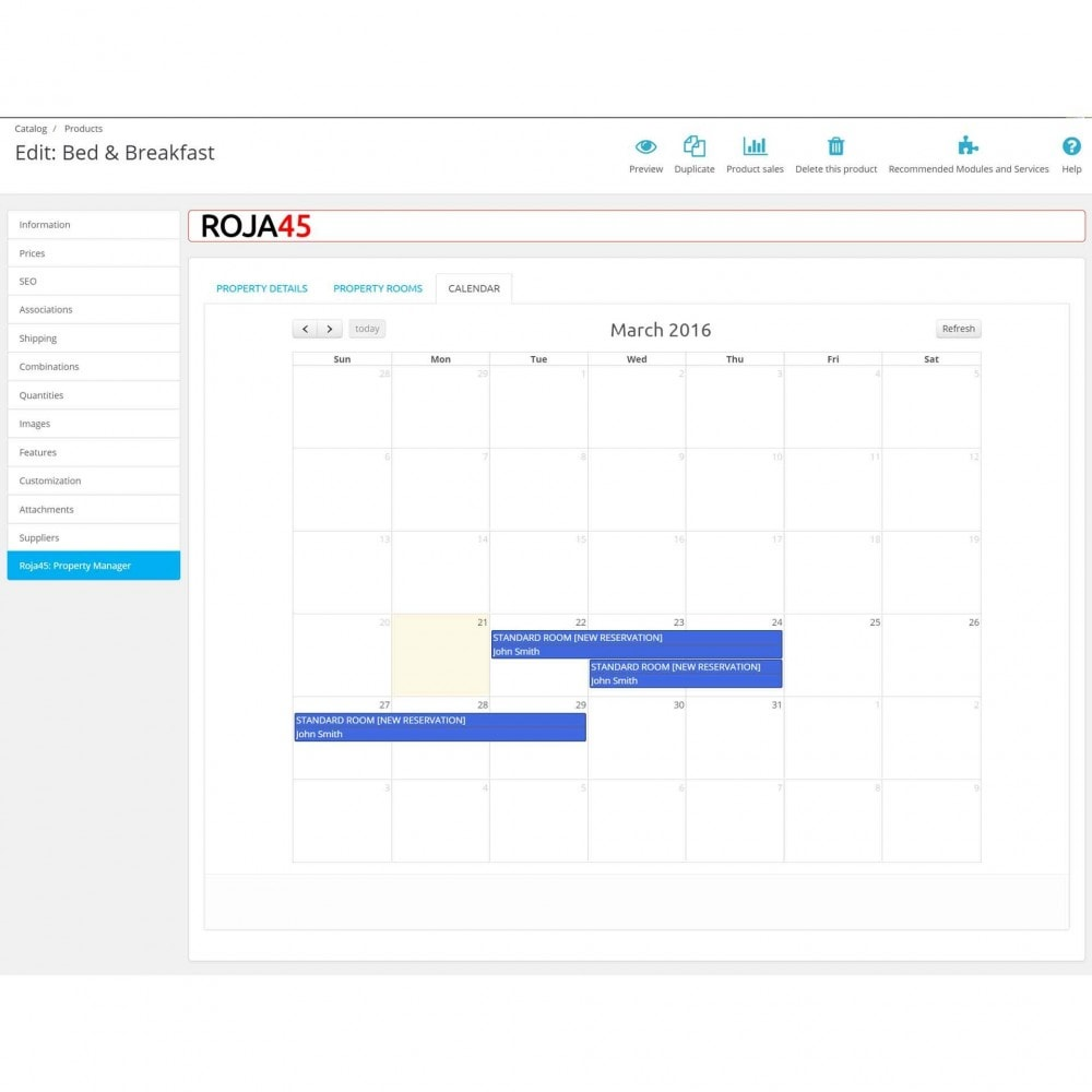 module - Locação e Reserva - Roja45: Property Rental & Booking Manager - 24