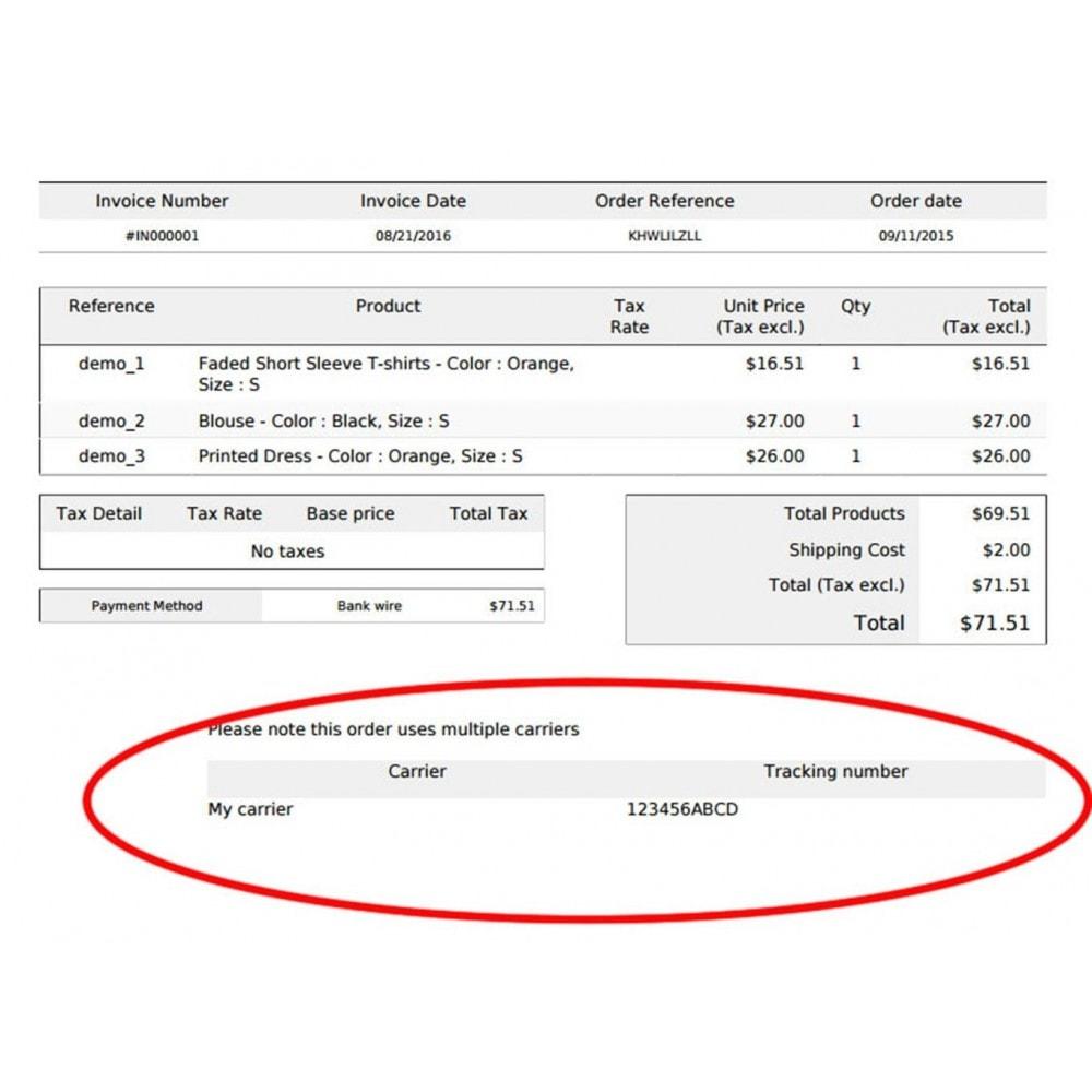 module - Bezorging volgen - Track Multiple Carriers & Multiple Tracking Numbers - 12