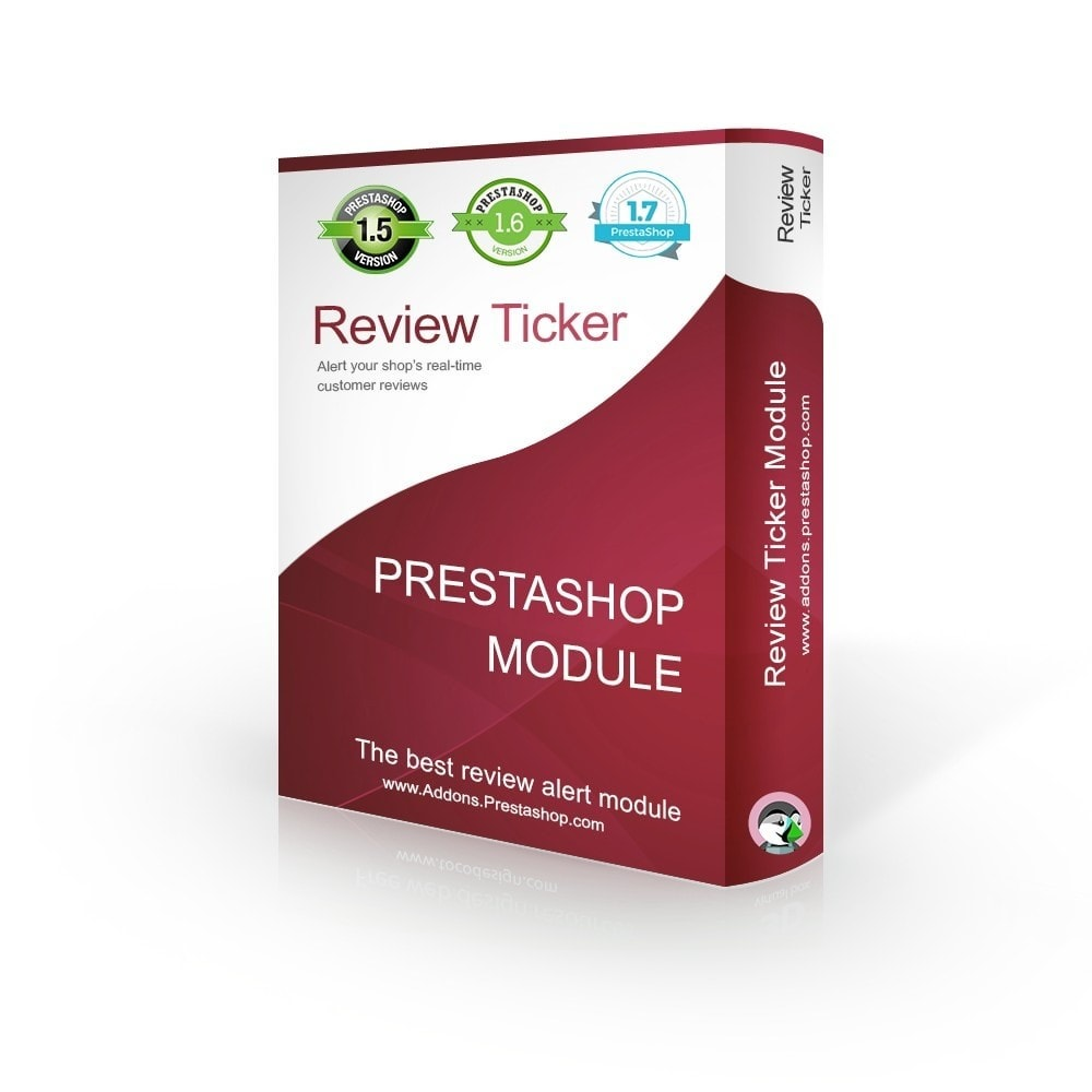 module - Kundenbewertungen - Review Ticker - REAL TIME product reviews & comments - 1