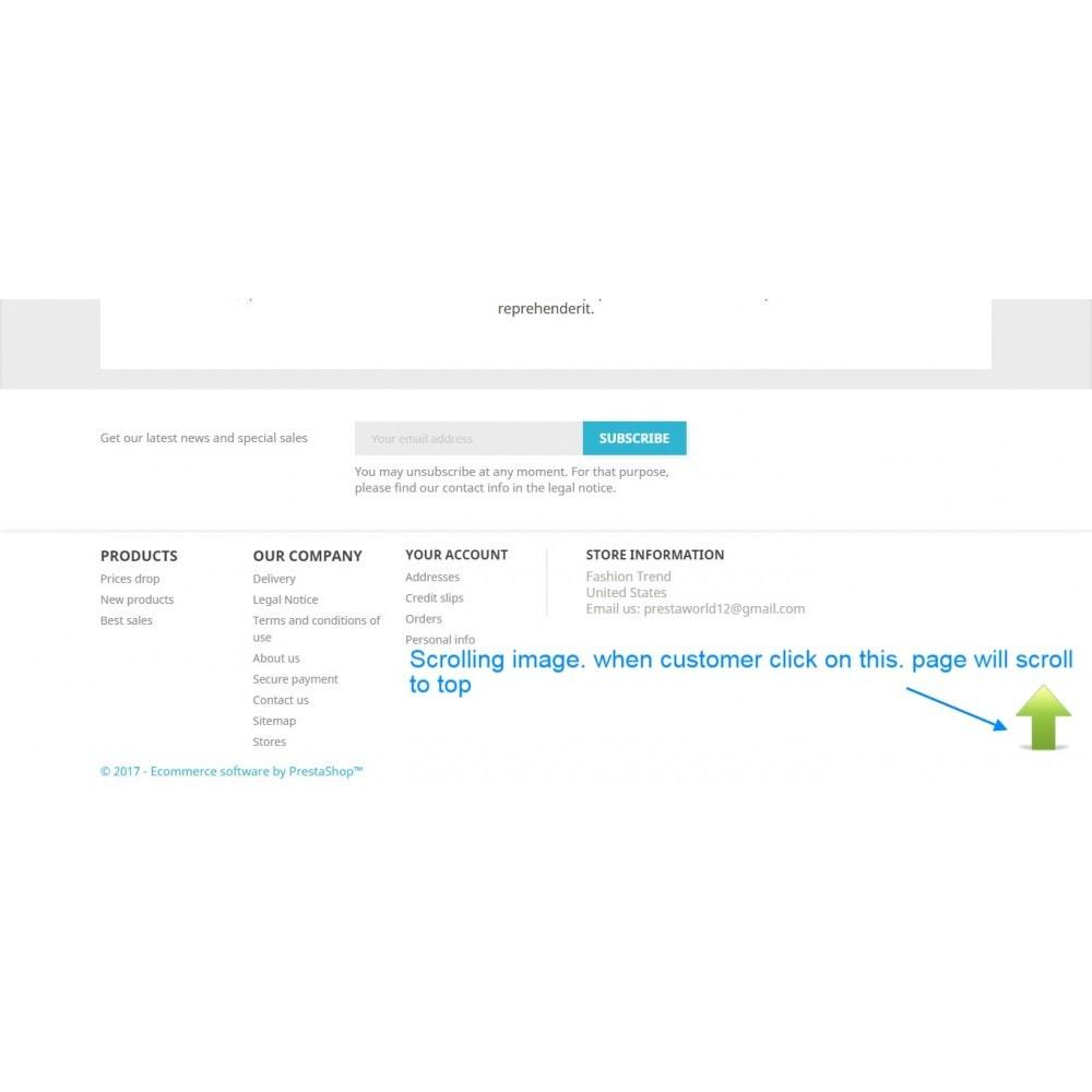module - Инструменты навигации - Enable Admin Menu Scrollbar - 2