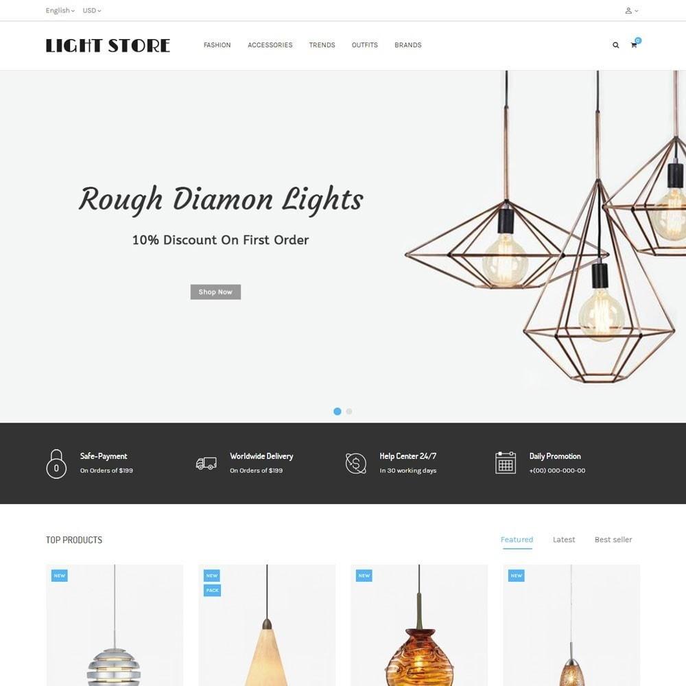 theme - Hogar y Jardín - Light Store - 2