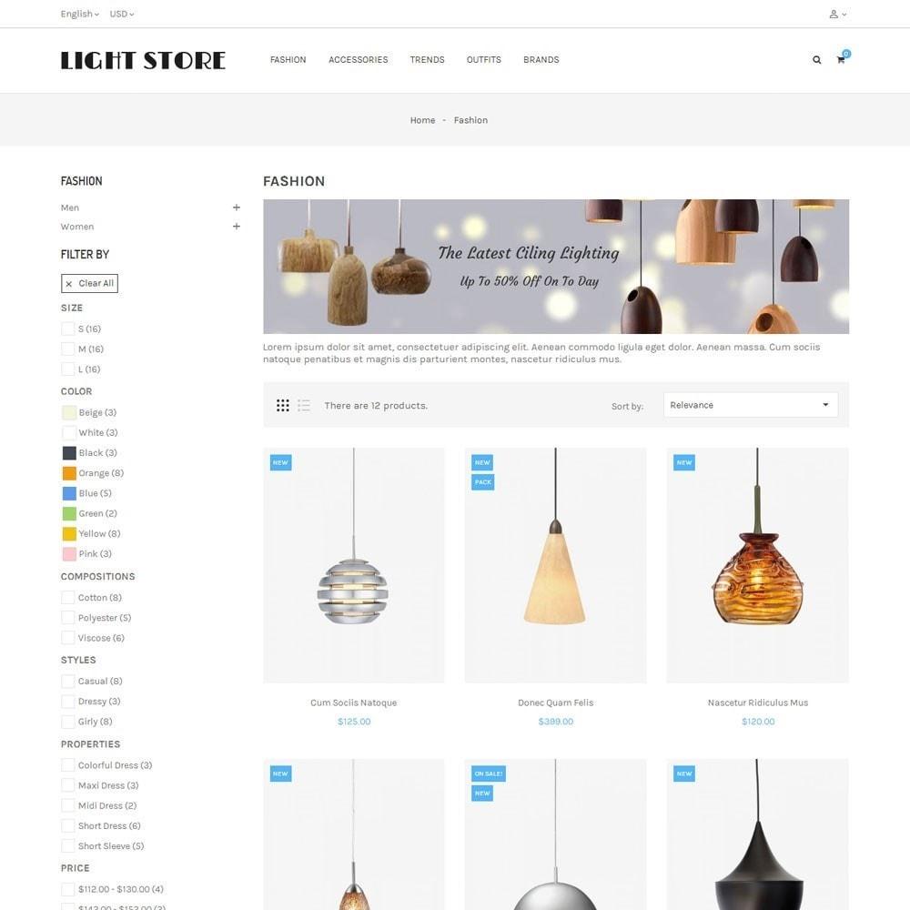 theme - Hogar y Jardín - Light Store - 3