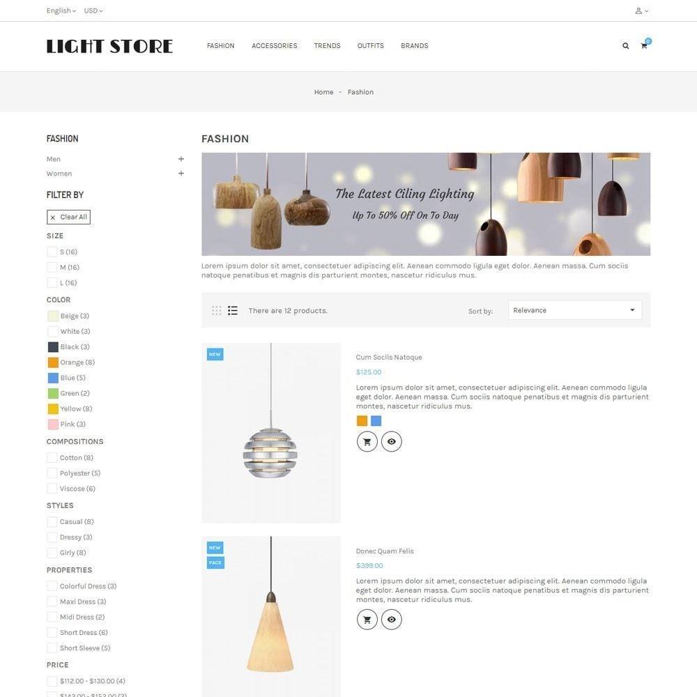 theme - Hogar y Jardín - Light Store - 4
