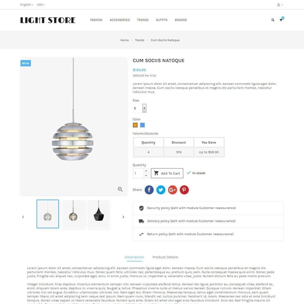 theme - Hogar y Jardín - Light Store - 5
