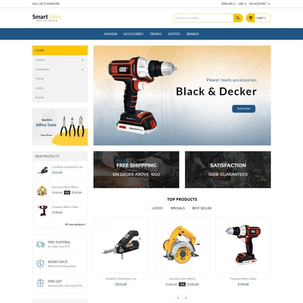 theme - Home & Garden - Smart Tools Store - 2