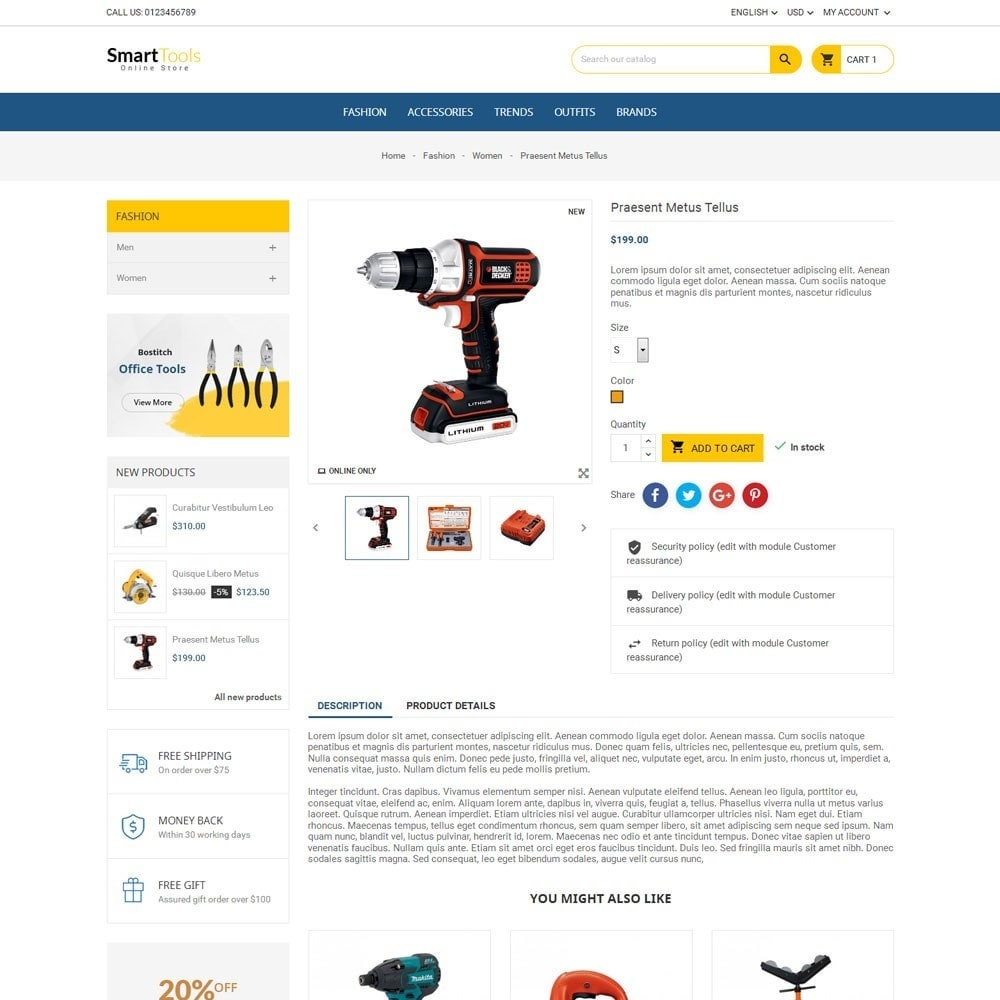 theme - Home & Garden - Smart Tools Store - 5