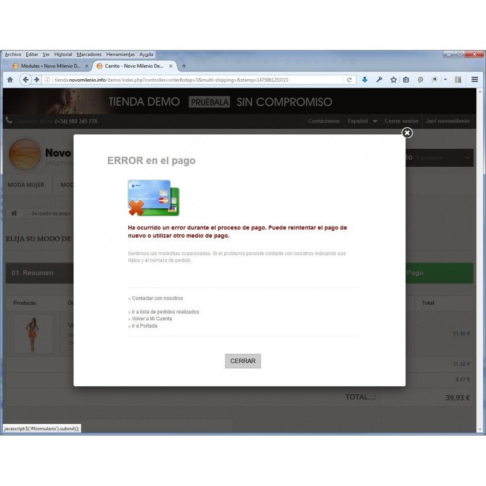 module - Pago con Tarjeta o Carteras digitales - CECA TPV PS17+ Pago seguro con tarjeta de crédito SHA2 - 4