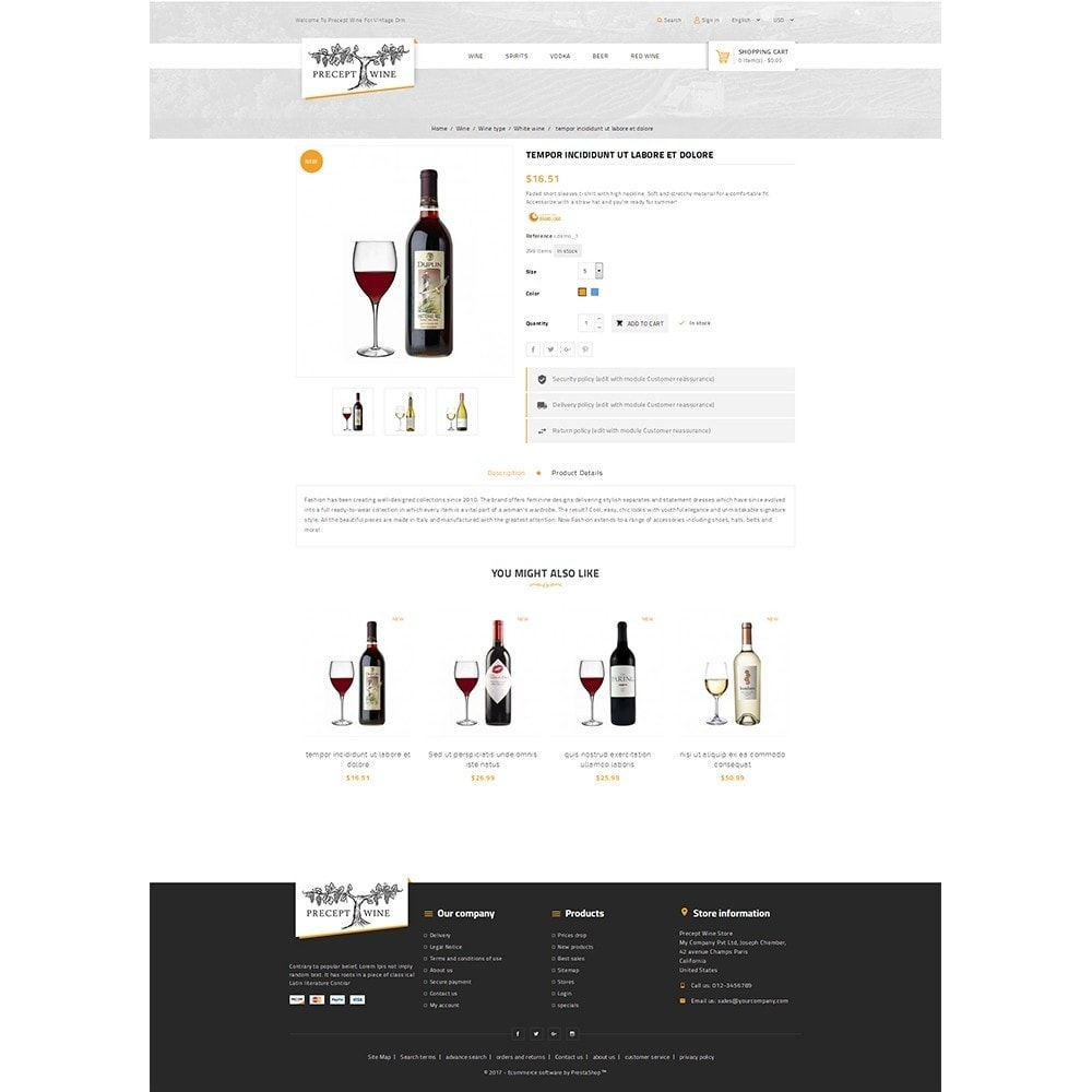 theme - Boissons & Tabac - Precept Wine Store - 5