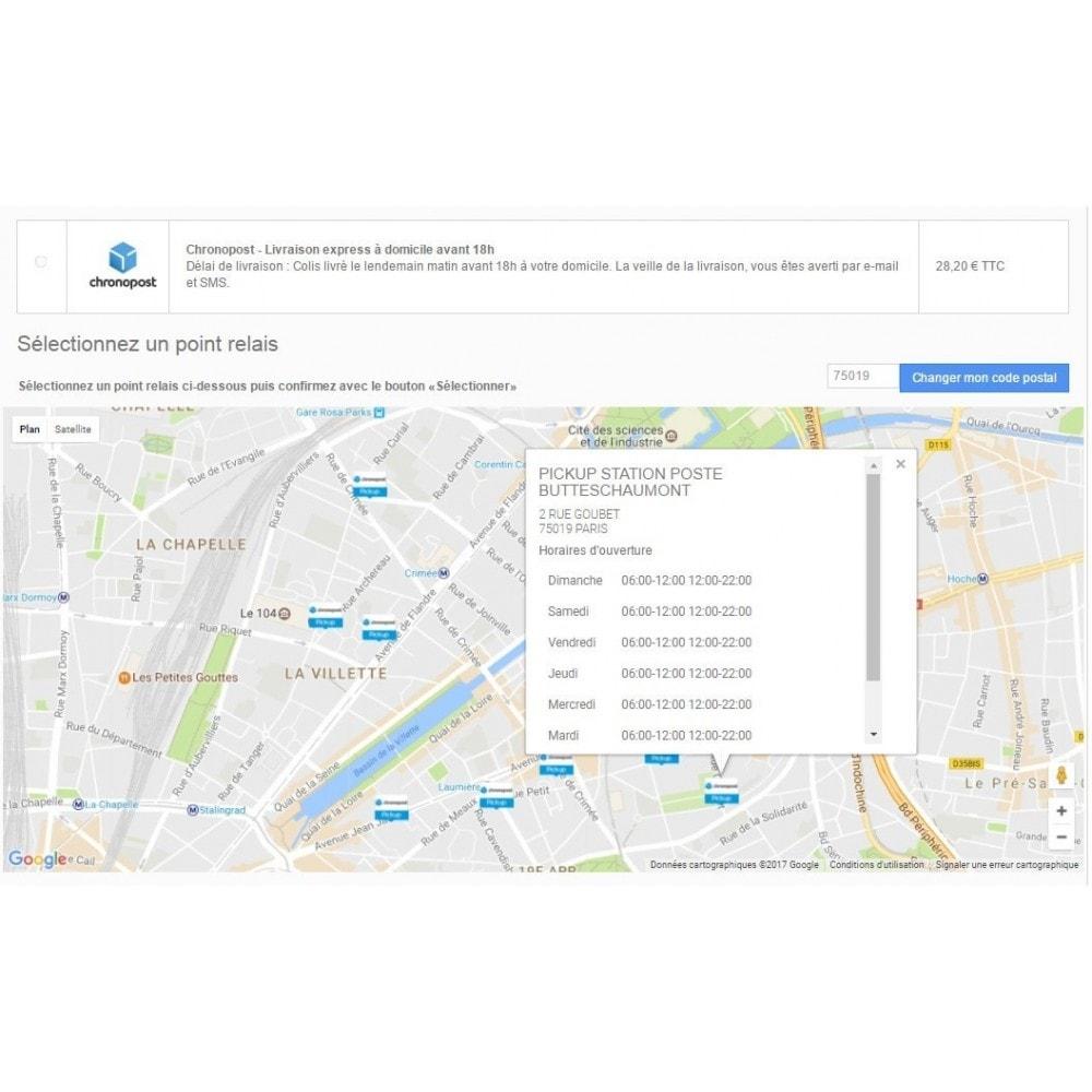 module - Перевозчики - Chronopost official - 1