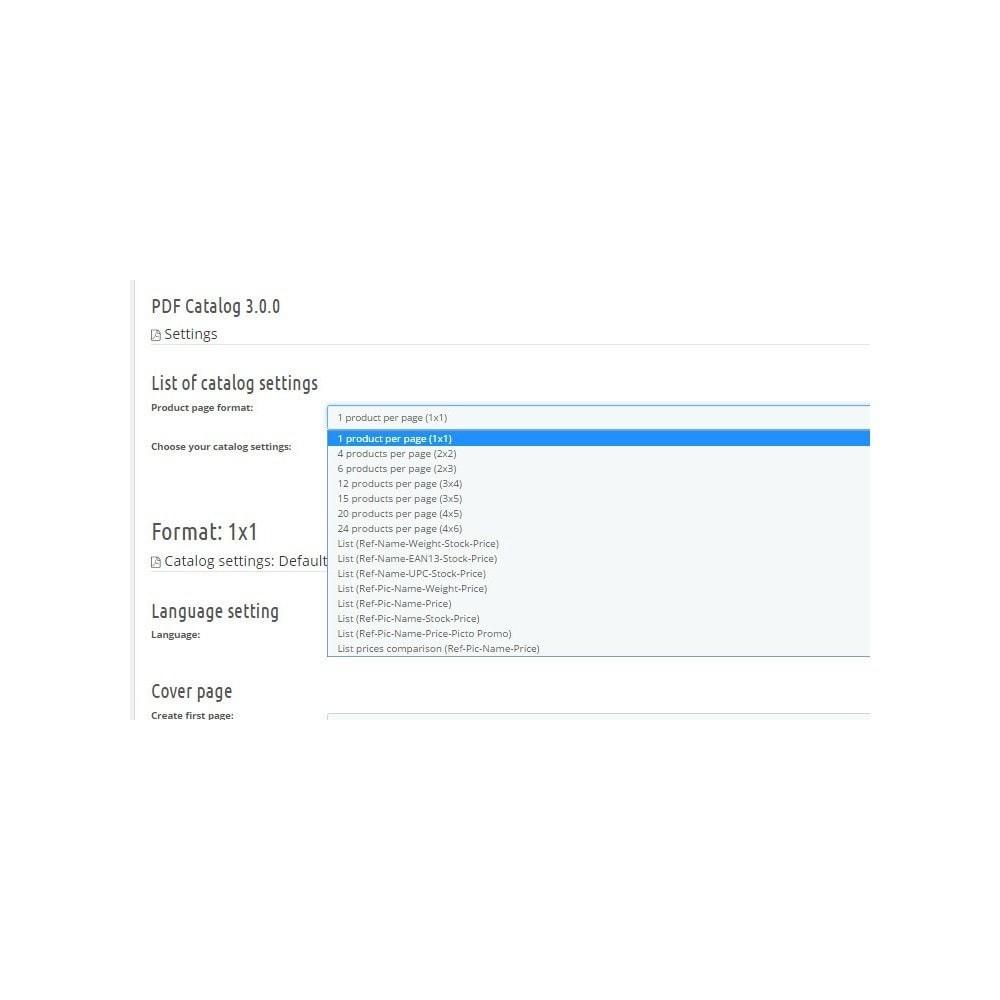 module - Daten Im-&Export - PDF Catalog - 1
