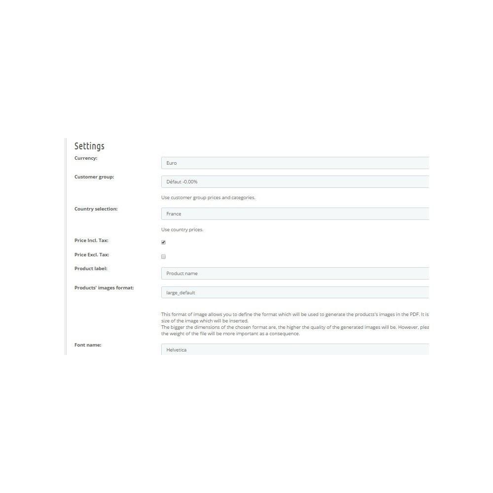 module - Data Import & Export - PDF Catalog - 3