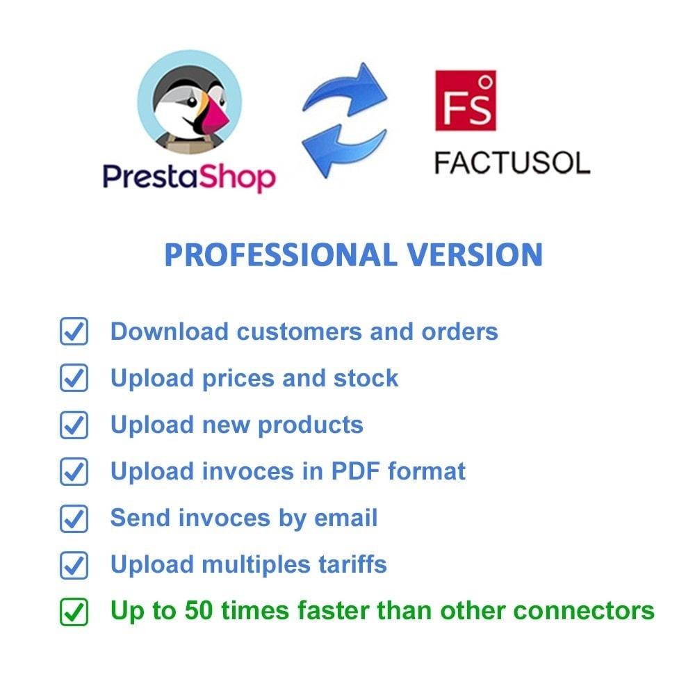 module - Integracja z programami stron trzecich (CRM, ERP...) - Professional FactuSOL Connector - 2