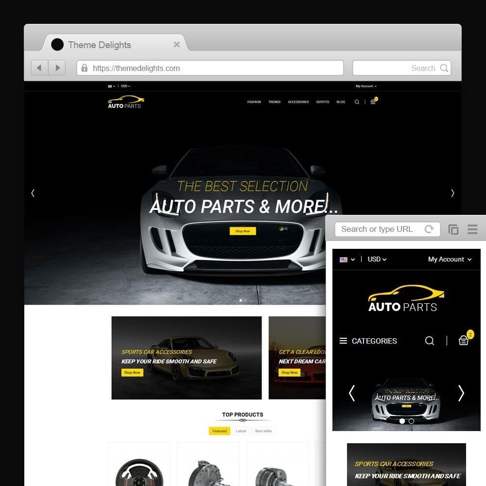theme - Autos & Motorräder - Auto Parts Car Store - 1
