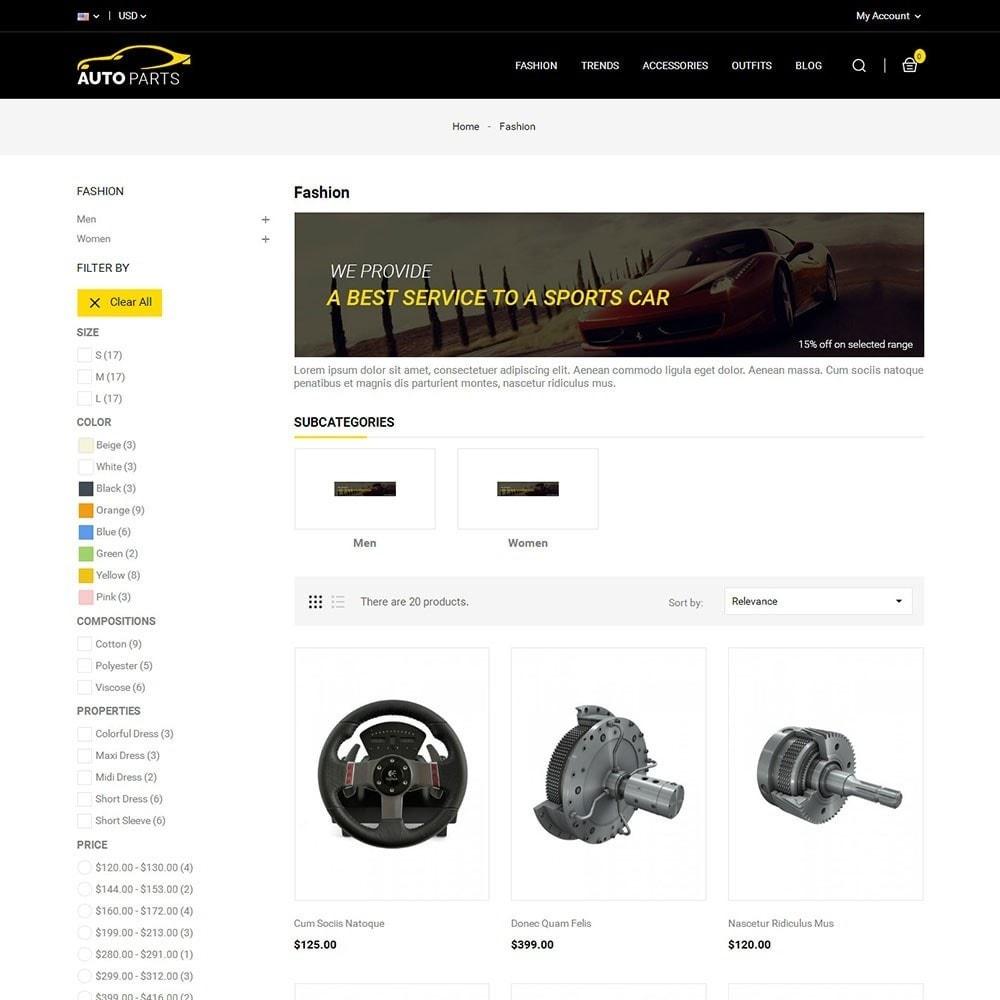 theme - Carros & Motos - Auto Parts Car Store - 3