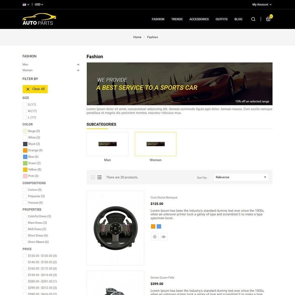 theme - Carros & Motos - Auto Parts Car Store - 4