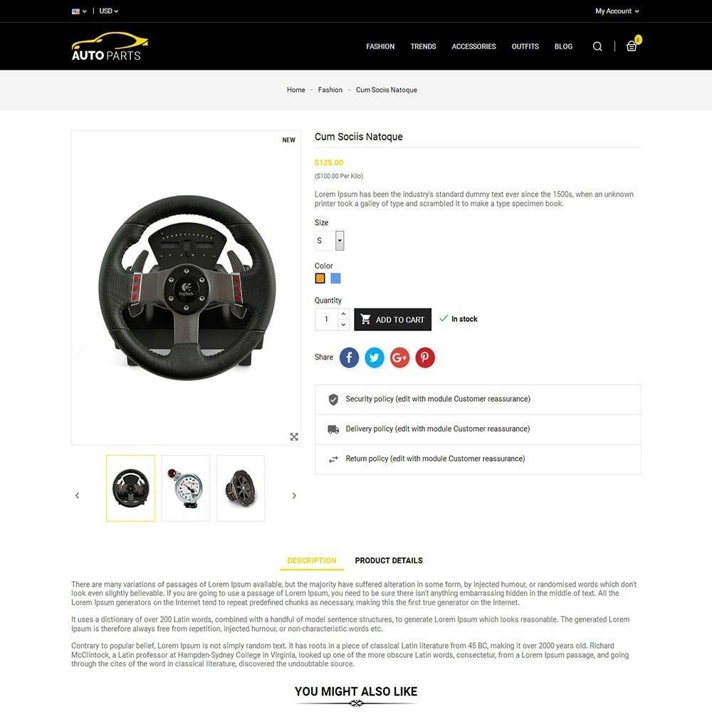 theme - Autos & Motorräder - Auto Parts Car Store - 5