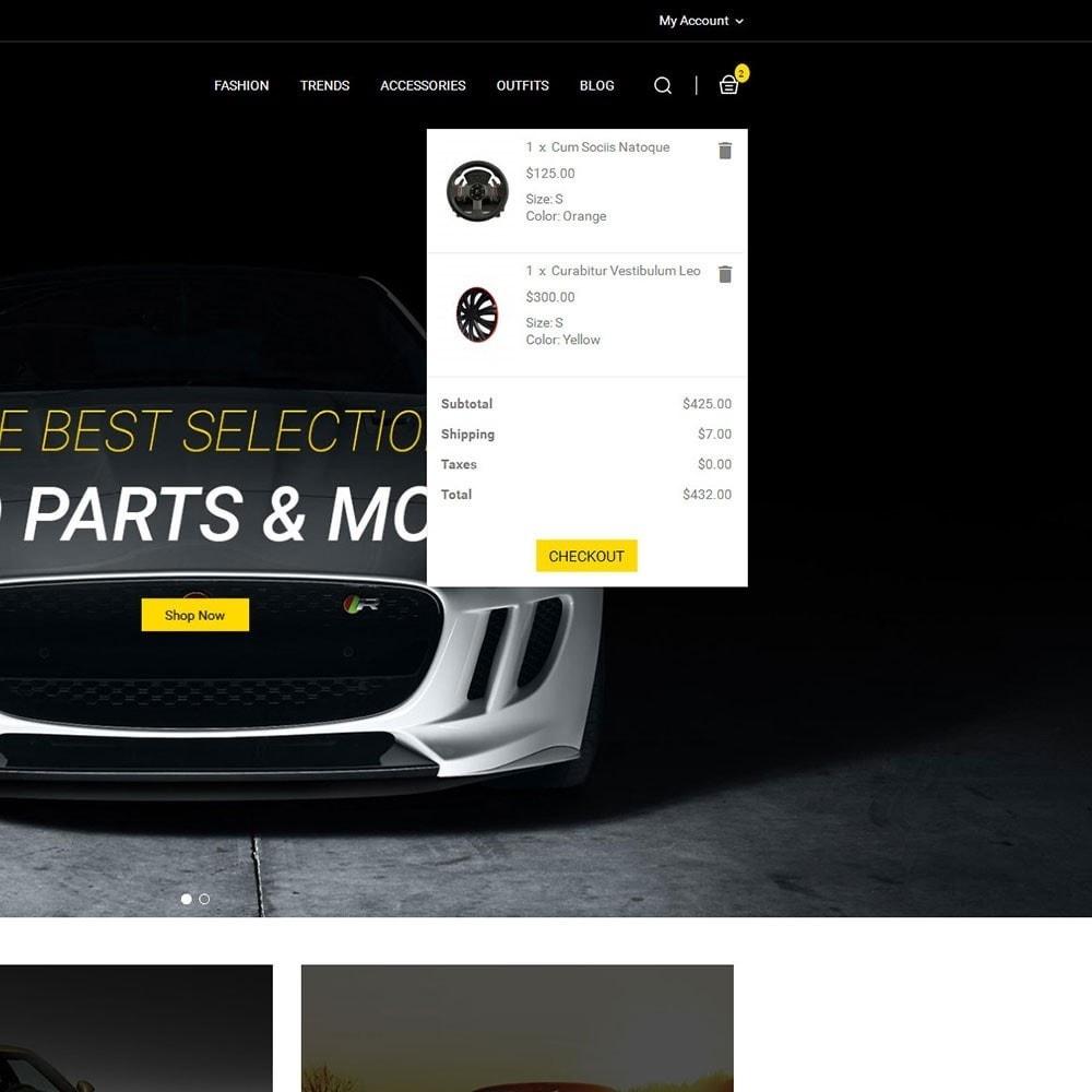 theme - Autos & Motorräder - Auto Parts Car Store - 6