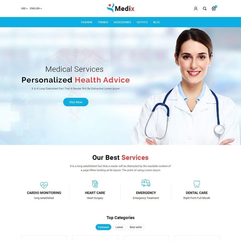 theme - Salud y Belleza - Medix Medical Store - 2