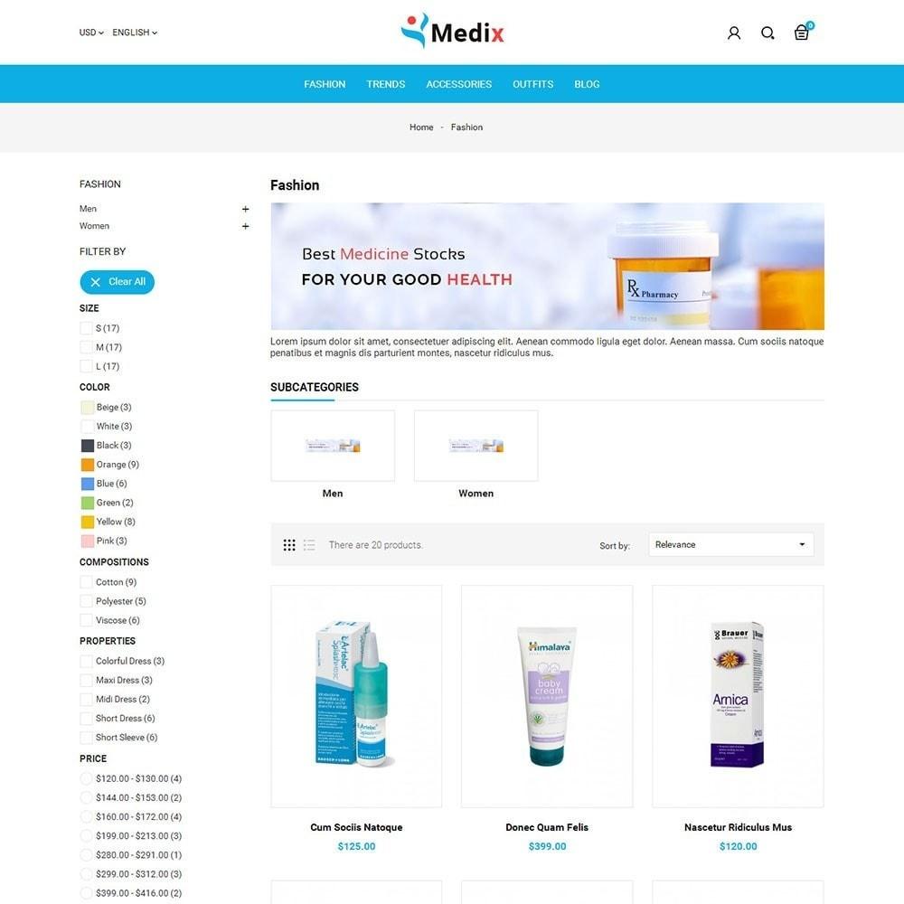 theme - Salud y Belleza - Medix Medical Store - 3