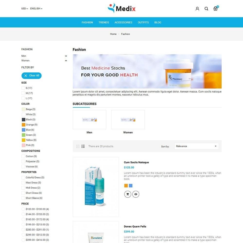 theme - Salud y Belleza - Medix Medical Store - 4