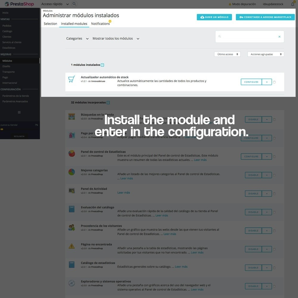 module - Fast & Mass Update - Massive stock updater (product y combinations) - 2