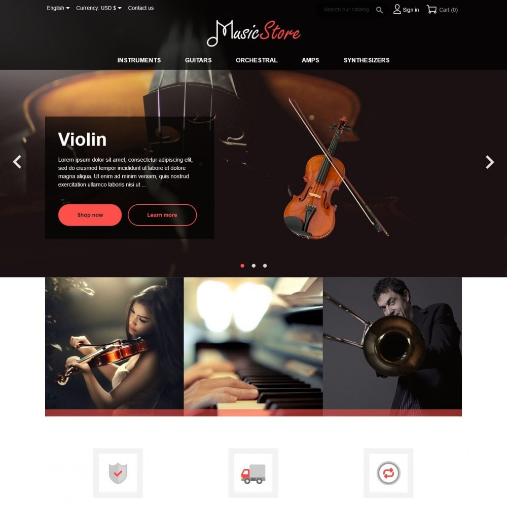 theme - Kultura & Sztuka - MusicStore - 2
